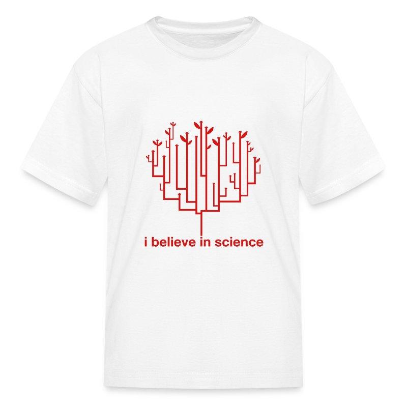 Kid's Tree of Life: White (Red) - Kids' T-Shirt