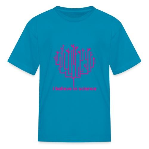 Kid's Tree of Life: Pink (Hot Pink) - Kids' T-Shirt