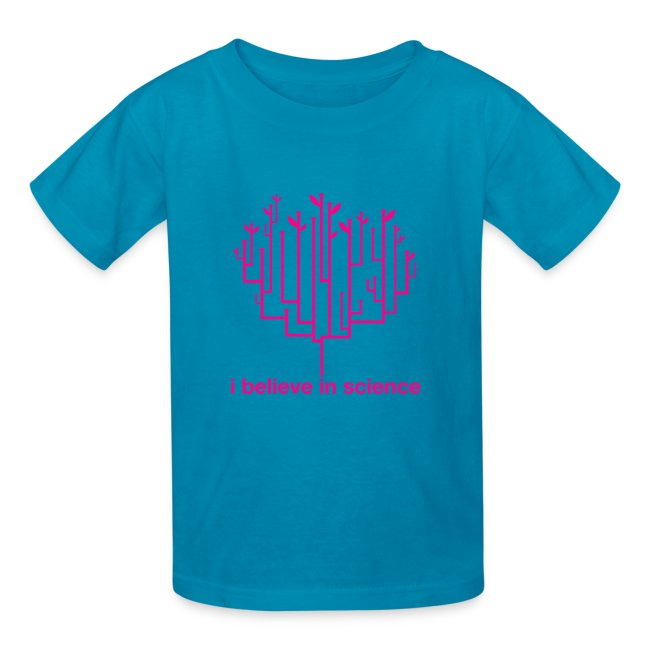 Kid's Tree of Life: Pink (Hot Pink)