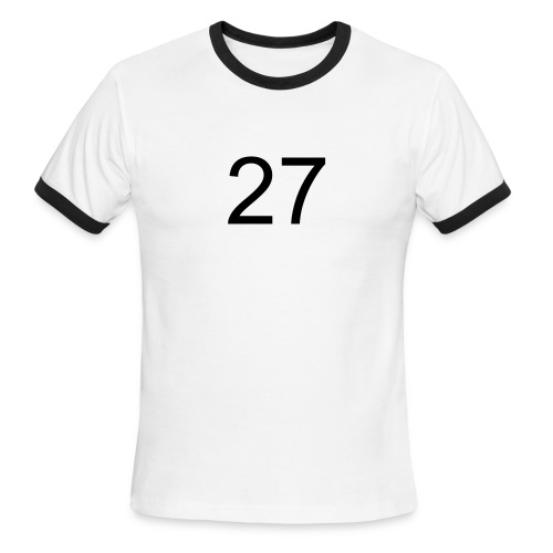 27 - Men's Ringer T-Shirt