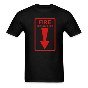 Fire Extinguisher - Men's T-Shirt