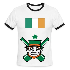 Men's Ringer T-Shirt - this is for people who like St. patricks day