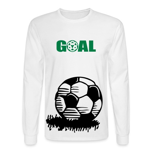 Men's Long Sleeve T-Shirt - this is for soccer lovers!