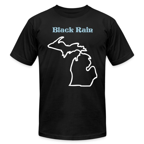 Black Rain Operations Jersey T - Men's Fine Jersey T-Shirt
