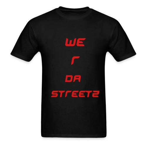 TEAMHOOD WE R DA STREETZ - Men's T-Shirt