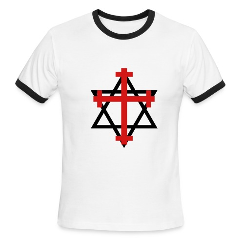Salvation in Christ - Men's Ringer T-Shirt