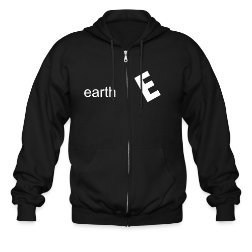 earthE Hoodie for Boys-Design by Ian McCarthy - Men's Zip Hoodie