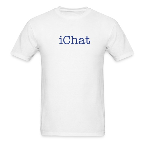iChat White - Men's T-Shirt