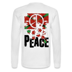 peace basque country - Men's Long Sleeve T-Shirt