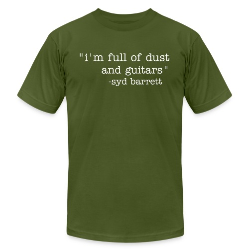 Syd's quote shirt - Men's  Jersey T-Shirt