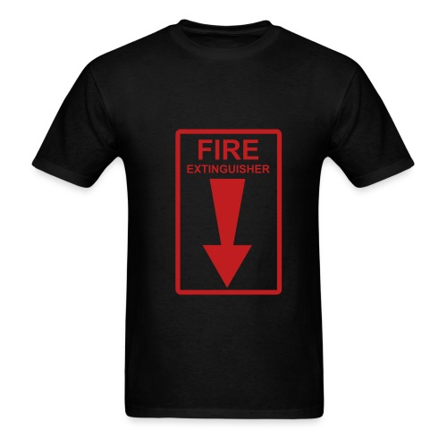 extinguisher - Men's T-Shirt