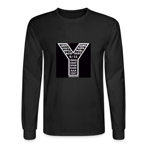 Y Generation - Men's Long Sleeve T-Shirt