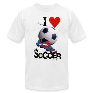 soccer t-shirt - Men's Fine Jersey T-Shirt