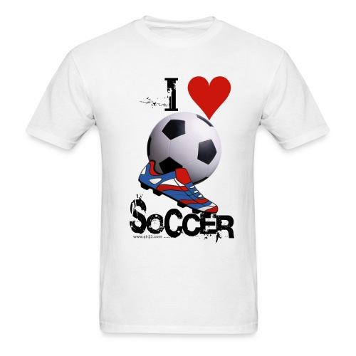soccer - Men's T-Shirt