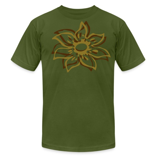 I Ate the Lotus - Men's Fine Jersey T-Shirt