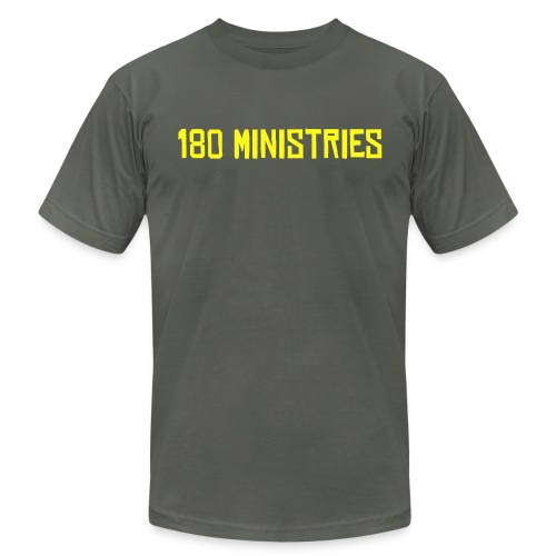 180 Ministries - Men's Fine Jersey T-Shirt