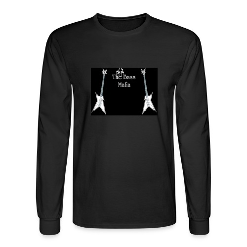 Bass Mafia Lons Sleeve tee - Men's Long Sleeve T-Shirt