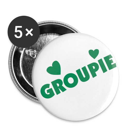 Groupie Buttons - Large Buttons