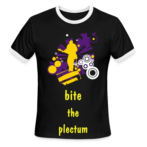 Bite the pelctrum t - Men's Ringer T-Shirt
