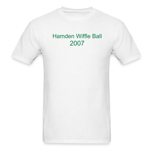 Hamden Wiffle Ball 2007 - Men's T-Shirt