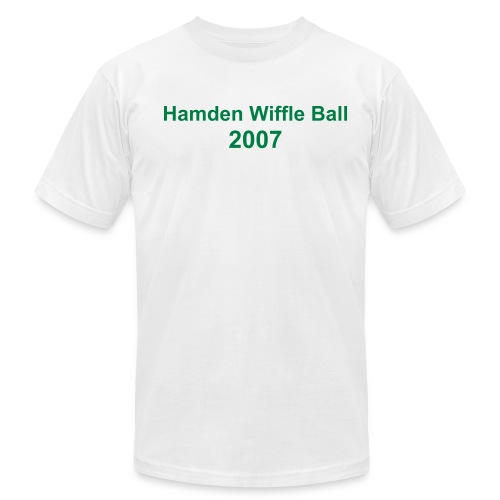 Hamden WIffle Ball 2007 - Men's  Jersey T-Shirt