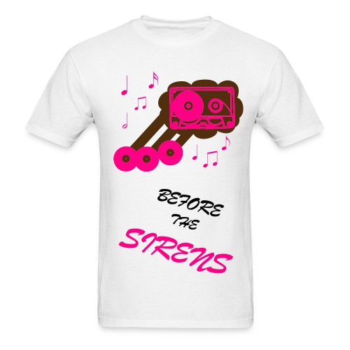 Before The Sirens - Turntablism - Men's T-Shirt
