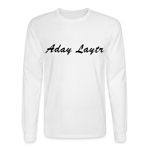 Men's Long Sleeve T-Shirt - Aday Laytr