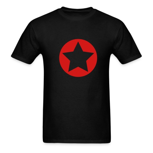 BCR Red Star Shirt - Men's T-Shirt