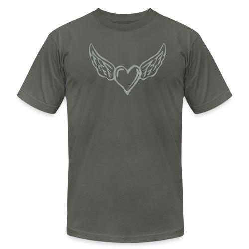 Fly Heart - Men's  Jersey T-Shirt