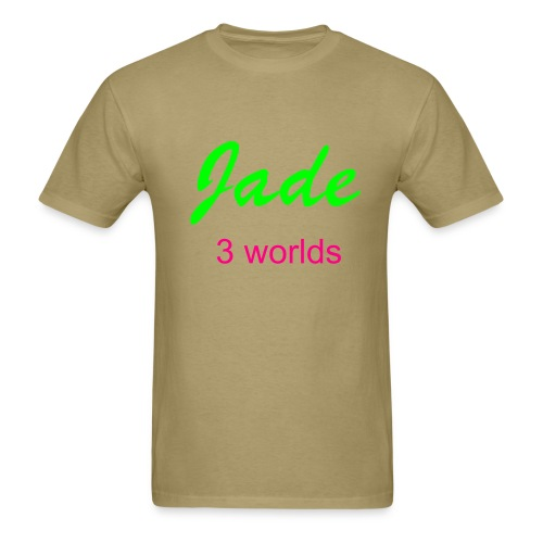 jade tan shirt - Men's T-Shirt