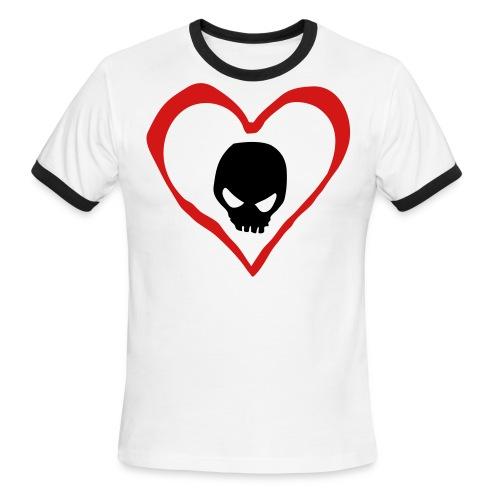 Deadly Love - Men's Ringer T-Shirt