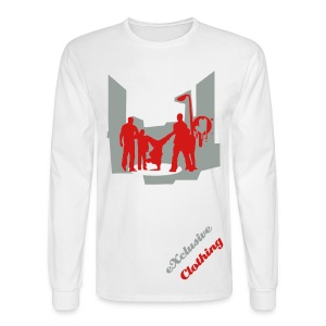 eXclusice Clothing My City Long Sleeve Tee - Men's Long Sleeve T-Shirt