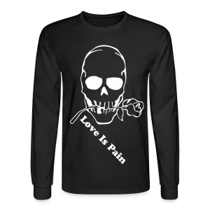 eXclusive Clothing Love Is Pain Long Sleeve Tee - Men's Long Sleeve T-Shirt