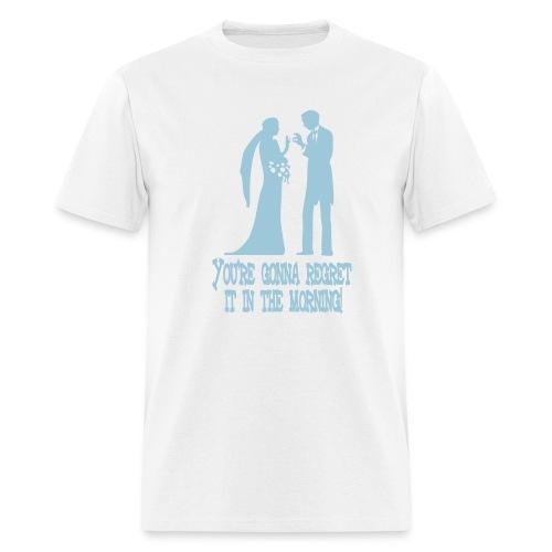 Just say no...to marraige - Men's T-Shirt