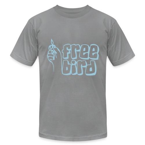 Free bird hate and love - Men's  Jersey T-Shirt