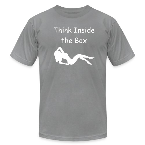 Think Inside the Box - Men's  Jersey T-Shirt