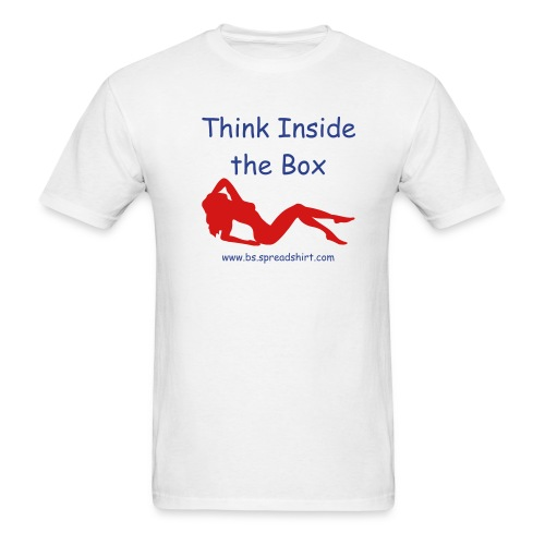 Think Inside the Box - Men's T-Shirt