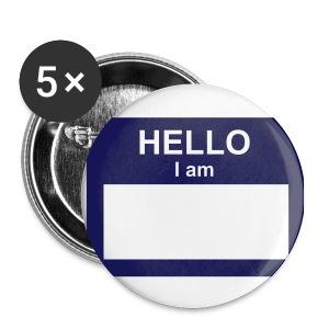 HELLO Button - Small Buttons
