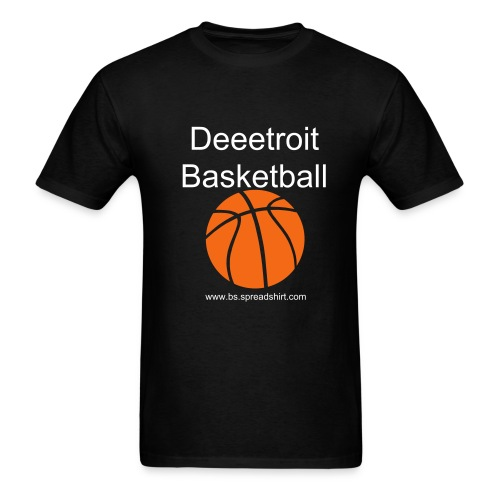 Deeetroit Basketball - Men's T-Shirt