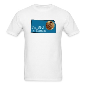 Big in Kansas - Men's T-Shirt