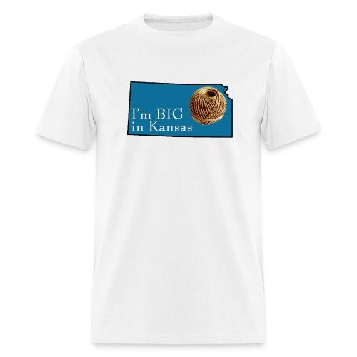 Big in Kansas - Men's T-Shirt