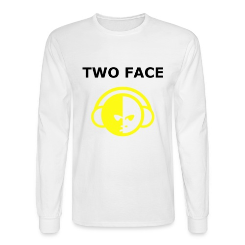 Two face product 3(male) - Men's Long Sleeve T-Shirt