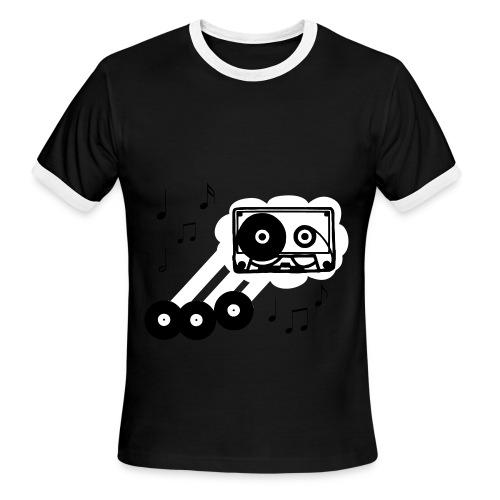 Music By:Misled - Men's Ringer T-Shirt