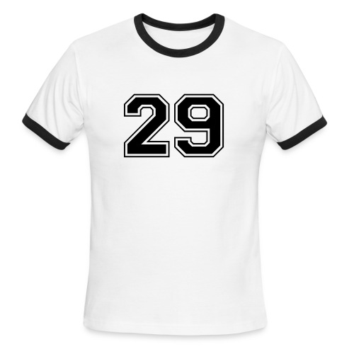 29 Retro Ringer Tee - Men's Ringer T-Shirt