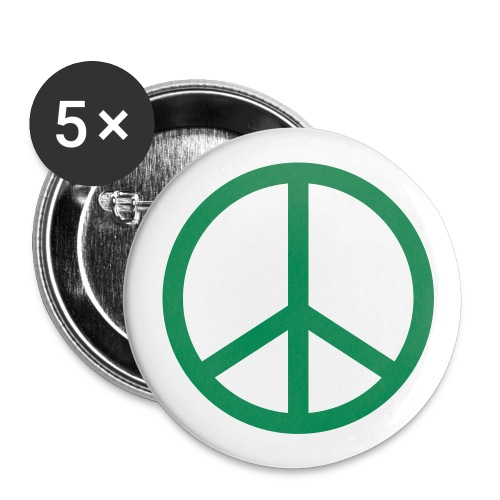 Peace buttons - Large Buttons