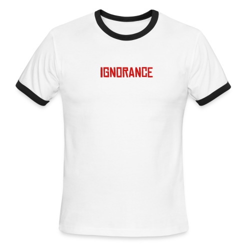 ignorant boys - Men's Ringer T-Shirt