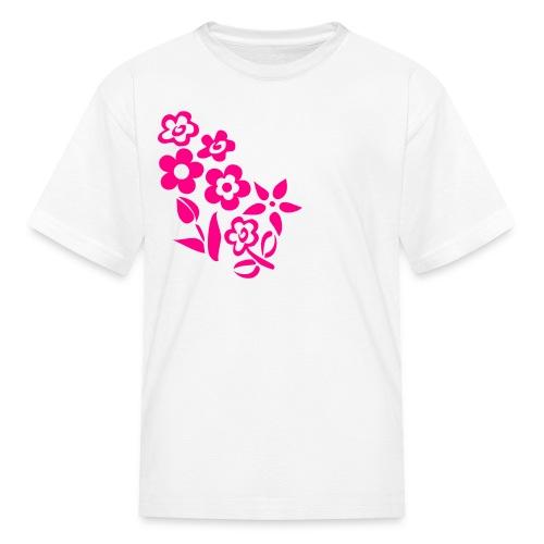 Fleurs - T-shirt classique pour enfants