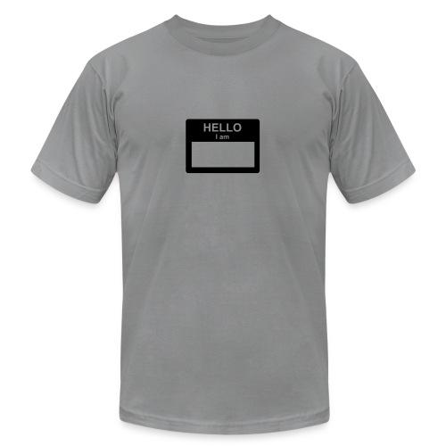Name Tag - Men's Fine Jersey T-Shirt