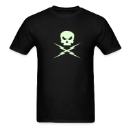 T-Shirts ~ Men's T-Shirt ~ GLOW-IN-THE-DARK!! DEATH PROOF T-SHIRT