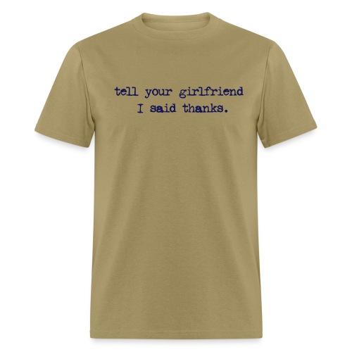 Thanks! - Men's T-Shirt